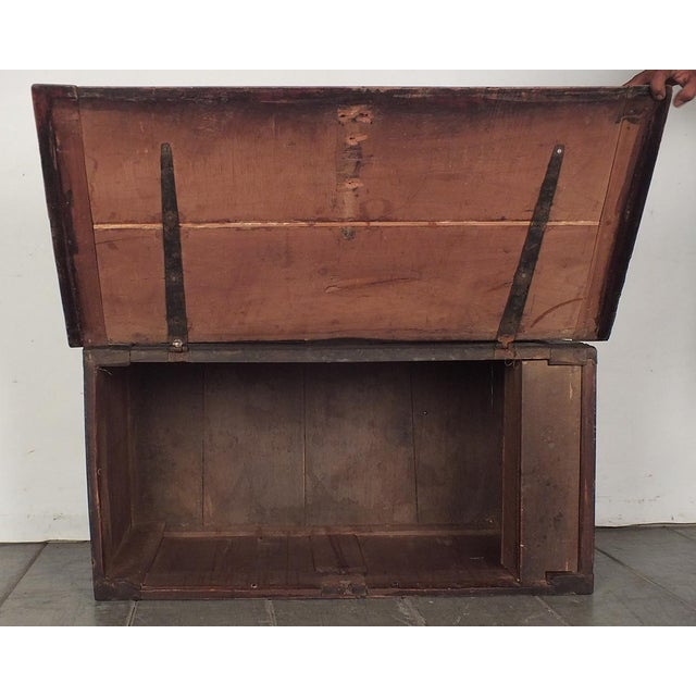 18th Century French Trunk Spanish Baroque-Style - Image 7 of 10