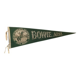 Early Bowie AZ Travel Pennant Western
