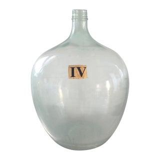 Vintage Demijohn Wine Bottle