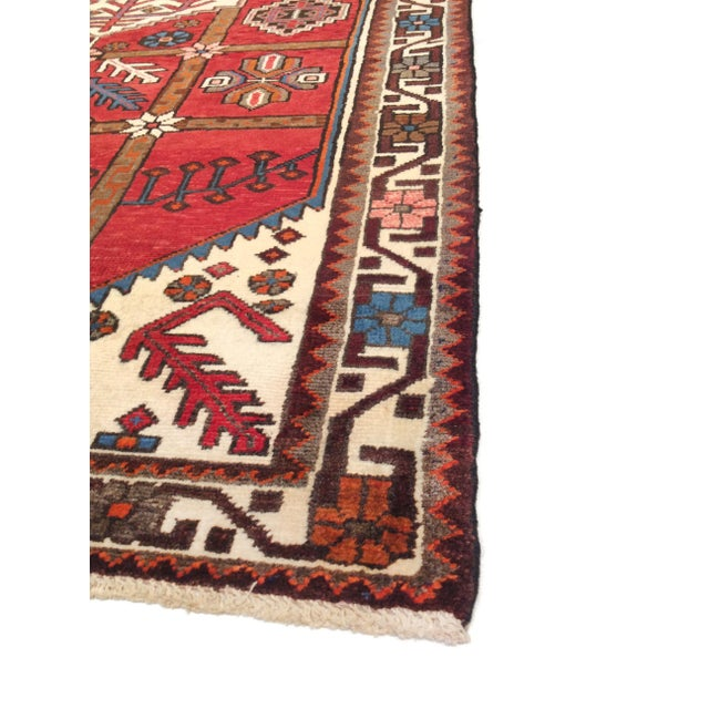 "Image of Pasargad Vintage Balouch Area Rug- 3'11"" X 5' 4"""