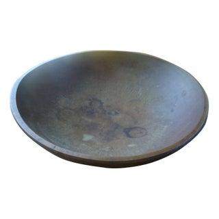 Primitive Wooden Bowl
