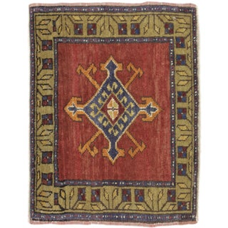 Turkish Yastik Rug - 1′7″ × 2′2″