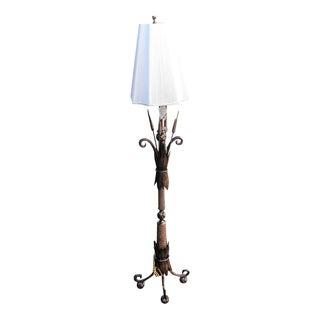 Alexander-John Brass Reeds Floor Lamp
