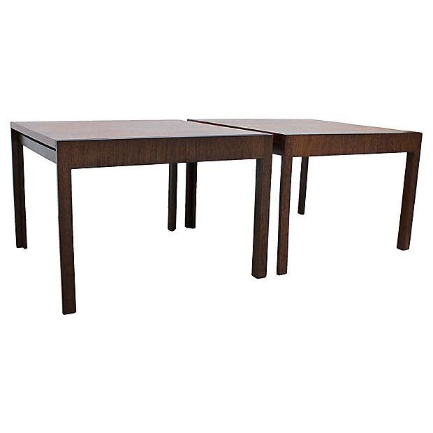 Baker Rosewood Tables - A Pair - Image 6 of 9