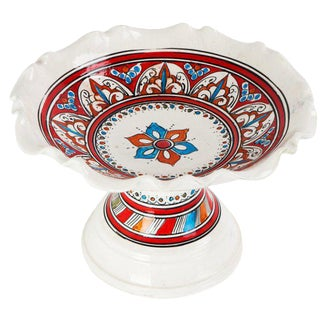 Multicolored Grace Coup Plate