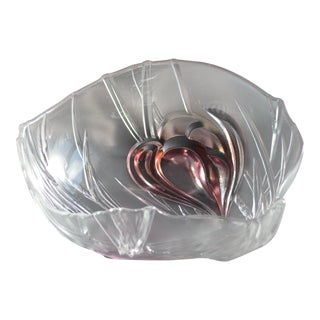 Frosted Glass Decorative Bowl
