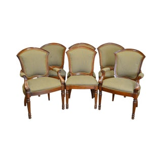 Henredon Empire Style Dining Chairs - Set of 6