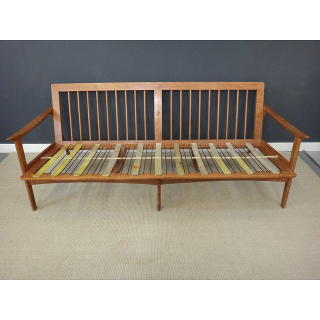 Danish Modern Lounge Sofa Frame - Image 2 of 4