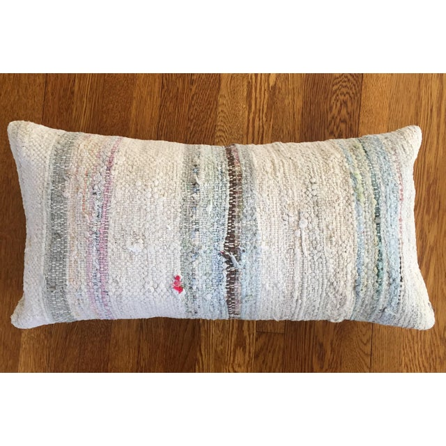 Moroccan Kilim Boho Pastel Pillow Cover - Image 2 of 7