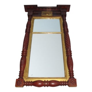 Large Federal Style Mirror