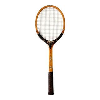Vintage Spalding Tennis Racquet