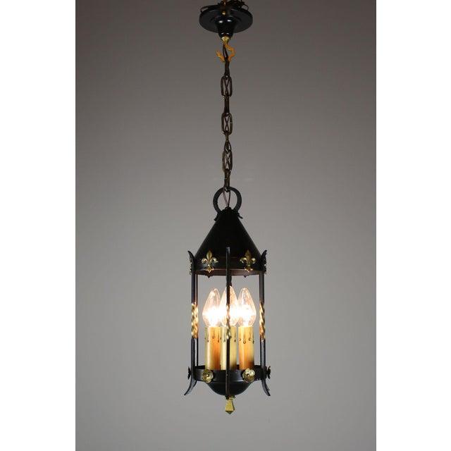 Spanish Colonial Lantern by Moe Bridges Co. - Image 4 of 7