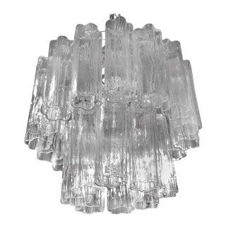 Vintage Murano Glass Chandelier Tronchi