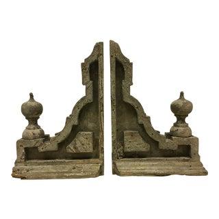 Victorian Eastlake Rustic Corbels- A Pair