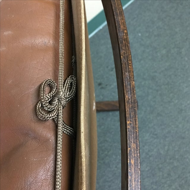 Westnofa Leather Siesta Chair - Image 10 of 11