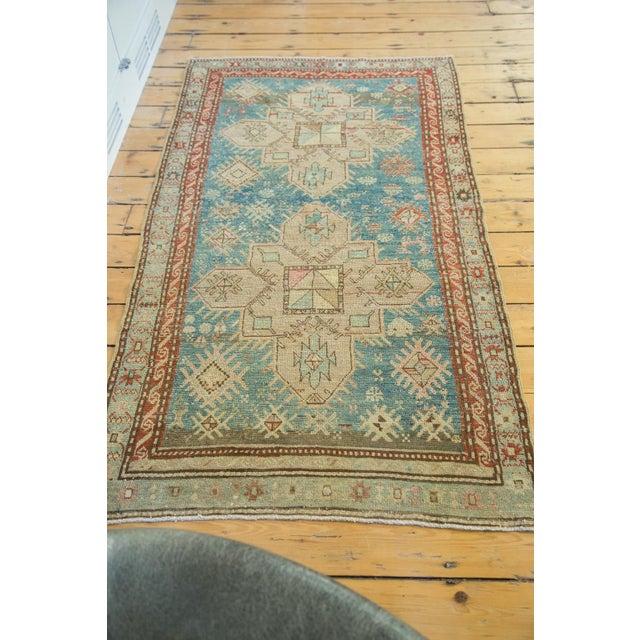 "Vintage Anatolian Caucasian Rug- 3'4"" x 6'3"" - Image 4 of 5"