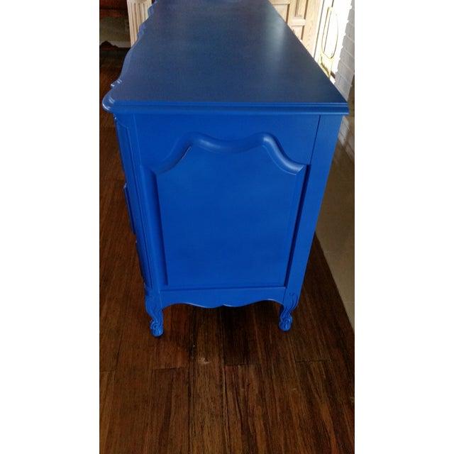 Image of Blue Vintage Bethlehem Furniture Corp. Dresser