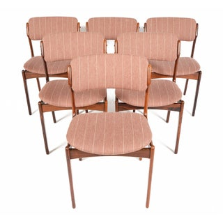 Erik Buck Model 49 Dining Chairs - Set of 6