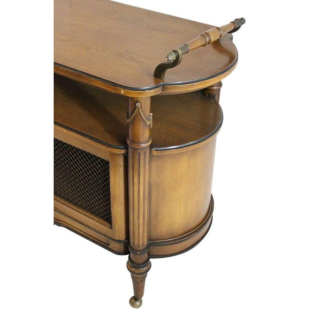 Image of Serving Cart With Brass Ormolu