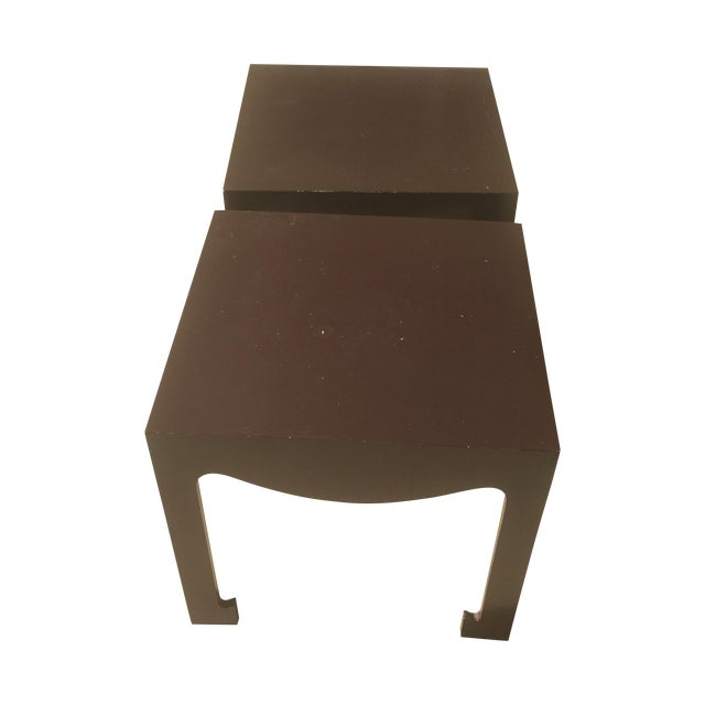 Bungalow 5 Jacqui Side Tables- A Pair - Image 1 of 7