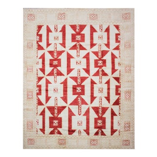 "Aara Rugs Inc. Hand Knotted Oushak Rug - 8'4"" X 10'"