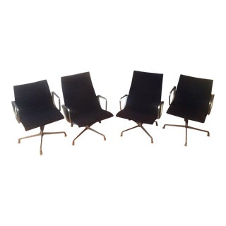 Eames Chairs High-Backed Chairs - Set of 4