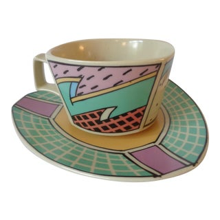 Rosenthal Memphis Style Teacup & Coaster