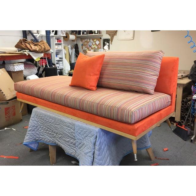 Custom Mid-Century Modern Sofa Lounge - Image 8 of 10
