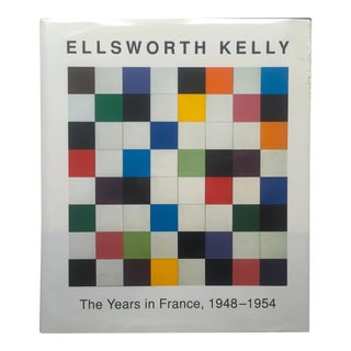 """Ellsworth Kelly the Years in France 1948 - 1954 "" 1st Edition Hardcover Exhibition Art Book"