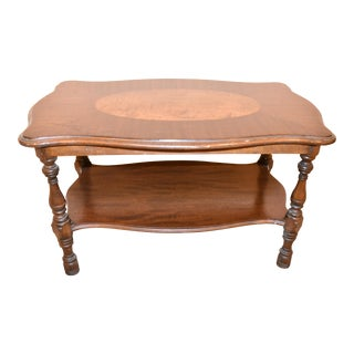 Imperial Antique Mahogany Accent Table