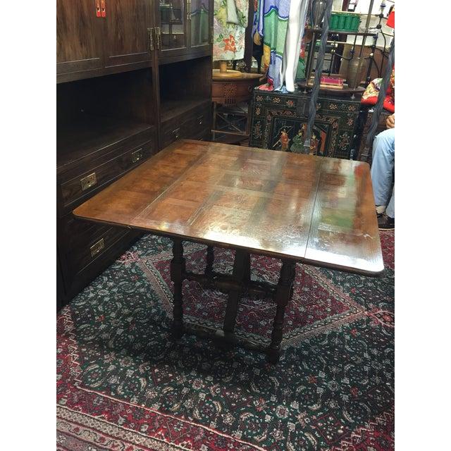 Baker Furniture Company Drop-Leaf Table - Image 6 of 8