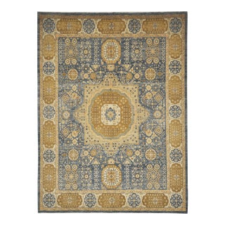 Mamluk Hand Knotted Wool Area Rug - 8'3 X 11'1