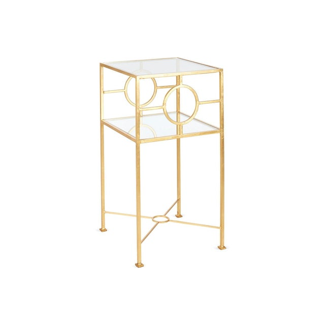 Image of World's Away Gold Side Table