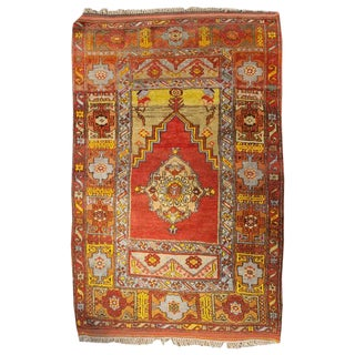 Early 20th Century Turkish Prayer Rug