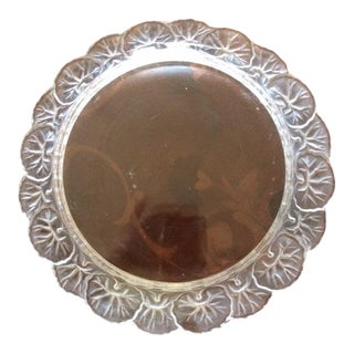 Lalique Etched Crystal Plate