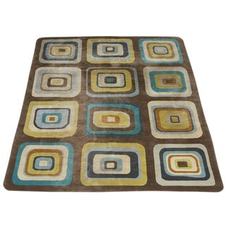 Angela Adams Geometric Custom Wool Area Rug - 10' x 13'2""