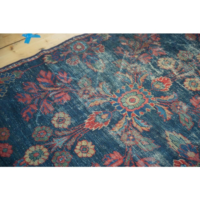 "Vintage Mahal Square Carpet - 6'4"" x 7'7"" - Image 5 of 10"