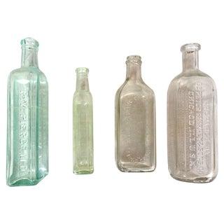 Vintage Apothecary Jars - Set Of 4