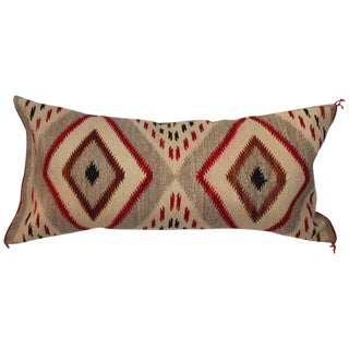 Monumental Navajo Weaving Eye Dazzler Pillow