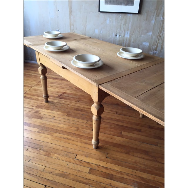 Rustic Italian Antique Dining Table - Image 8 of 9