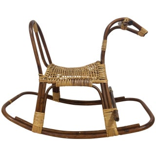 Mid-Century Swedish Rocking Horse