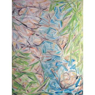 Zebeddee Springs Abstract Painting by Trixie Pitts
