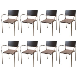 Lowenstein Italian Modern Dining Chairs - Set of 8
