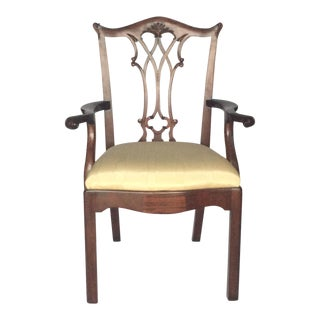 Maitland-Smith Chippendale Arm Chair