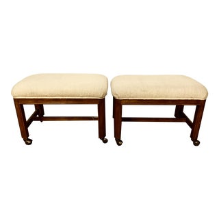 Pair of Stools on Casters by Drexel