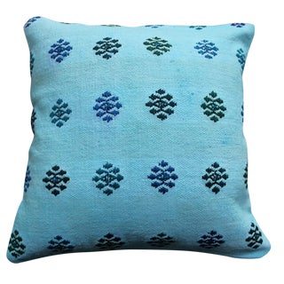 Blue Pillow Overdyed Pillow