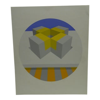 """Limited Signed Artists Proof Print """"Trylon Iv"""" by Mike Kutchner"""