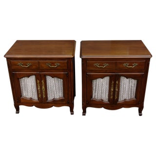 Vintage John Widdicomb Nighstands - Pair