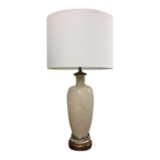 Vintage Crackle Lamp with Shade