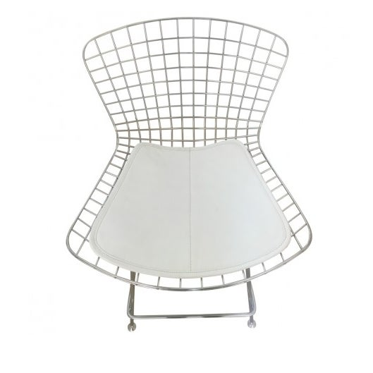Bertoia-Style Wire Counter Stool - 5 Available - Image 2 of 7